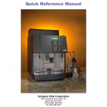Schaerer Ambiente Quick Reference manual   Manualzz