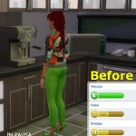 Mod The Sims: Espresso_machine give more energy by catalina_45 • Sims 4  Downloads   Sims 4, Sims, Sims 4 cheats