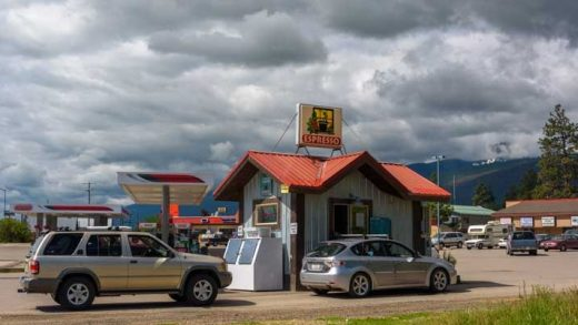 Coffee Kiosks of the West   Roads Less Traveled