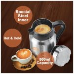 140 ml - 06 Pieces Coffee Cups Beverage Glasses with Handles Heat-Resistant Espresso  Cups COM-FOUR® 6-Piece Tea Glass Set Tea and Coffee Glasses