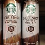 SPOTTED ON SHELVES: Starbucks Doubleshot Coffee & Protein (Coffee and Dark  Chocolate) - The Impulsive Buy