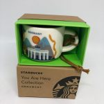 Starbucks Coffee You Are Here Germany Ceramic Ornament Espresso Mug New Box  Advertising Collectibles