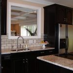 Dramatic Black in the Kitchen-before and after | Espresso kitchen cabinets, Espresso  cabinets, Dark kitchen cabinets