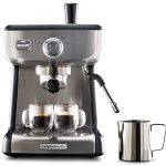 Calphalon BVCLECMP1 Temp iQ Espresso Machine with Steam Wand, Stainless -  Coffee Doll