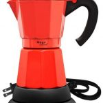 Amazon.com: Mega Cocina MCGN600PRGB Electric Coffee Maker, 6 cups, Red:  Kitchen & Dining