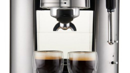 ♥ KRUPS XP601050 Pump Espresso Machine with Thermo Block System and  Stainless Steel Housing, Silver