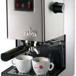 Amazon.com: Gaggia 14101 Classic Semi-Automatic Espresso Maker. Pannarello  Wand for Latte and Cappuccino Frothing. Brews for Both Single and Double  Shots.: Kitchen & Dining