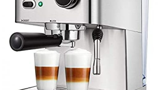 Black ELEHOT Espresso Machine Coffee Makers with 15 Bar Pump and Milk  Frother absolutebeauty.co.za