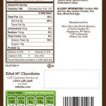 Nutritional Information Dark Chocolate Covered Coffee Beans - Image of  Coffee and Tea