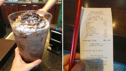 By the Numbers: Starbucks' Sexagintuple Vanilla Bean Mocha Frappuccino