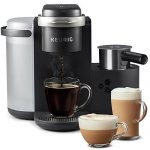 Froth Milk Brew One Touch Automatic Espresso Cappuccino & Latte Maker  Coffee Machine Gourmia GCM5500 and Mix Into Cup with the Push of One  Button- Nespresso Compatible
