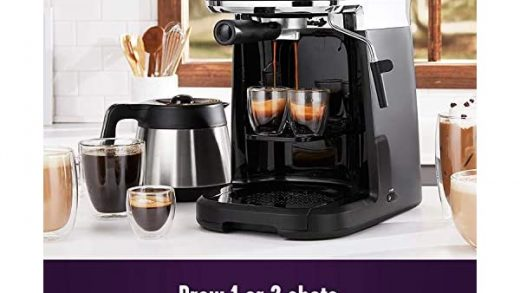 Mr. Coffee All-in- One Occasions Specialty Pods Coffee Maker, 10-Cup  Thermal Carafe, and Espresso with Milk Frother and… - Life-bus