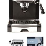 Capresso 116.04 Pump Espresso and Cappuccino Machine EC100 3 Items Black  and Stainless with Coffee Bean Canister and Descaler Coffee, Tea & Espresso  Appliances tripelma Espresso Machine & Coffeemaker Combos