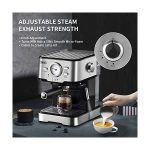 Espresso Machines Fast Heating Cappuccino Machine 20 Bar with Milk Frother  for Espresso, Latte and Mocha, for Home… - Life-bus