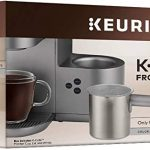 Amazon.com: Keurig K-Café Milk Frother Cup Replacement Part or Extra, Hot  and Cold Frothing, Compatible with Keurig K-Café Coffee Makers Only,  Nickel: Kitchen & Dining