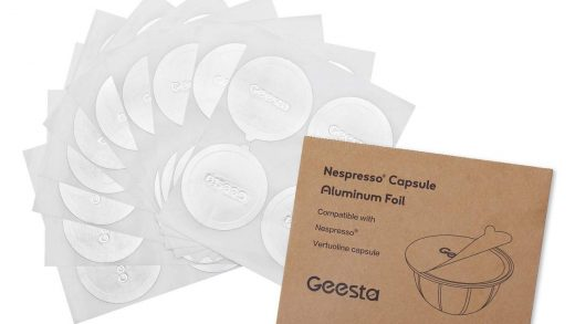 GEESTA Reusable Aluminum Foil Seals Kit Compatible with Nespresso  Vertuoline Capsules absolutebeauty.co.za