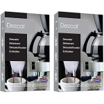 Amazon.com: Urnex Dezcal Coffee and Espresso Descaler and Cleaner - 2 Pack  - Activated Scale Remover Use with Home Coffee Brewers Espresso Machines  Pod Machines Capsule Machines Kettles Garmet Steamers: Coffee And