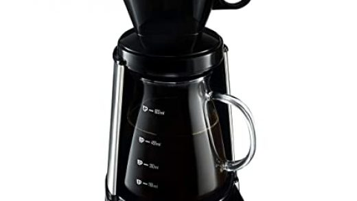 Amazon.com: Gourmia GCM3250 Digital Touch Pour-Over Coffee Maker - Automatic  and Manual Mode - Integrated Scale - Battery-Powered - 20-Ounce Capacity:  Kitchen & Dining
