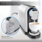 Drip Coffee Machines PKNESPRESO70 NutriChef Nespresso Machine Coffee &  Cappuccino Maker with Milk Frother Compatible with Nespresso Coffee Capsule  Pods Instant Heating and 3 Brewing Sizes Home geniemensch.com