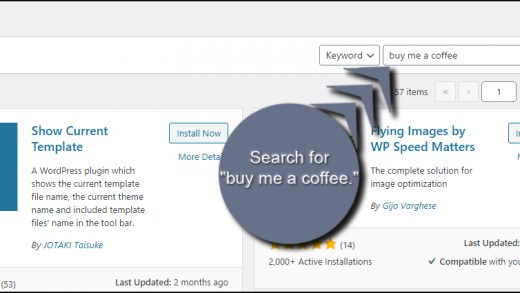 How to Add a Buy Me a Coffee Button to WordPress for Donations - Writer  Sanctuary