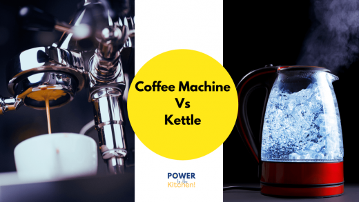 Coffee Machine vs Kettle - Power To The Kitchen