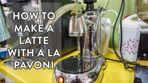 How to make Latte with a La Pavoni   Nineteen95 the Espresso Bar