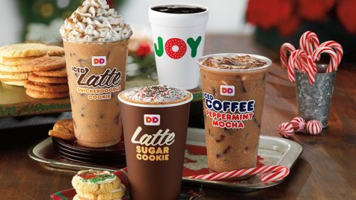 FAST FOOD NEWS: Dunkin' Donuts Sugar Cookie and Snickerdoodle Cookie Lattes  - The Impulsive Buy