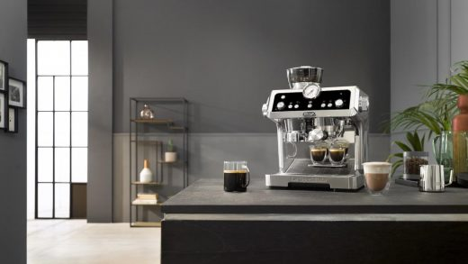 Make the perfect cup of coffee with the De'Longhi La Specialista machine -