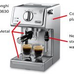 Delonghi ECP 31.21, 33.21, 35.31 review. The right balance of the price,  the metal body and the quality + unique milk foam regulator.    101Coffeemachines.Info