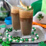 Frappé coffee with chocolate and mint liqueur (Φραπέ με σοκολάτα και  δυόσμο) | Taking the guesswork out of Greek cooking...one cup at a time