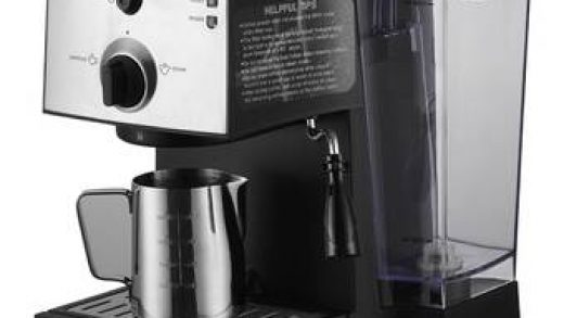 Frothing Pitcher and Espresso Tamper Capresso EC100 Pump Espresso and Cappuccino  Machine Bundle with Milk Frother