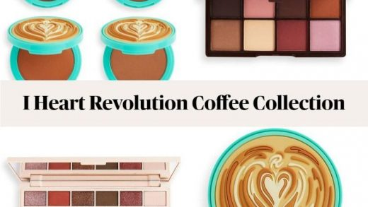 New From Makeup Revolution! I Heart Revolution Coffee Collection -  BeautyVelle | Makeup News