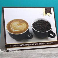 Paper Rose – Coffee Date – 16 cards 1 collection – Kristie Marcotte