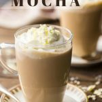 White Chocolate Mocha: so easy to make at home! -Baking a Moment