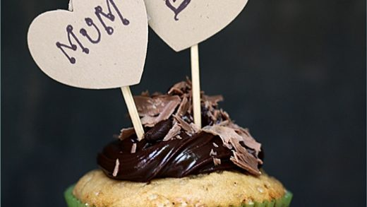 Baking| Espresso Chocolate Chip Cupcakes ... Espress-o-love for Mother's  Day!! -