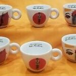 illy Art Collection 25° Set of 6 Espresso Cups Saucers by IPA Limited  Edition Decorative Collectibles digiteer Mugs, Cups