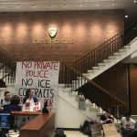 Keep On Pushing: Student sit-in opposes militarization of Johns Hopkins