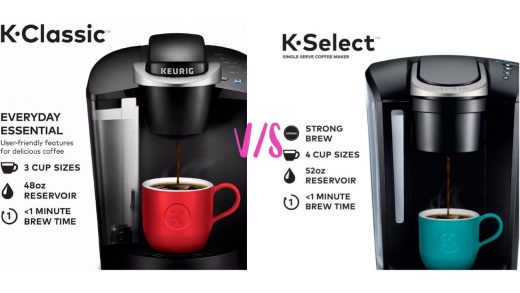 Keurig K Classic vs K Select - Which one is better?