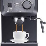 LMM Espresso Coffee Machine Maker 15 Bar, Capuccino, Frothing Milk Foam,  1050W, Capacity 1.25L Removable Drip Tray Steam…   Morning Coffee Guide