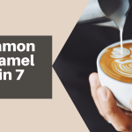 At Home Preparation of a Cinnamon and Caramel Latte - The Genuine Word