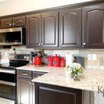 dark brown cabinets, espresso cabinets, espresso painted kitchen cabinets,  dark brown stained kitchen cabinets, kitchen cabinets painted in general  finishes dark chocolate, how to paint cabinets, painting kitchen cabinets,  can you use