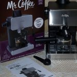 Mr. Coffee Steam Espresso Maker : Review and First Impressions   Be Your  Own Barista