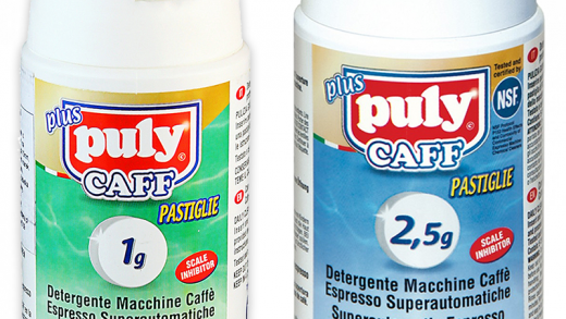 Puly Caff Detergent Cleaning Tablets for espresso and superautomatic