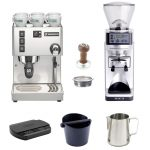 Rancilio Silvia based home barista startup kit with Sette grinder and  Brewista scale – Quaffee
