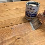 The Miracle That Is Sanding & Refinishing A Table | Young House Love