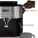 How To Use The Steam Wand To Froth Milk - Tecnora Blog