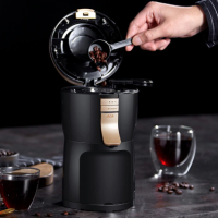Fully Automatic American Coffee Machine Maker Grinder Household
