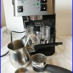 Starbucks Barista Espresso Stainless Coffee Maker with Accessories WORKS