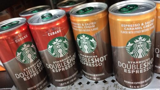 SPOTTED ON SHELVES: Starbucks Cubano and Espresso and Salted Caramel Cream Doubleshot  Espresso - The Impulsive Buy