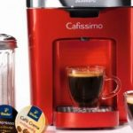 Tchibo Cafissimo DUO: smallest capsule machine in the world... caffitaly,  gaggia and CBTL